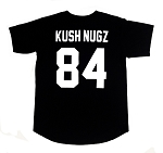 KUSH NUGZ 84 // Button-Up Baseball Jersey