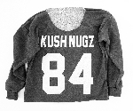 KUSH NUGZ 84 // Ladies Athletic Crop Sweatshirt