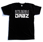 Kush Dabz Tee - Black & White
