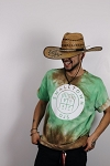 Smalltown DJs TieDye / Green Brown / Size XL
