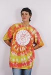 Smalltown DJs TieDye / Orange Red Yellow / Size XL