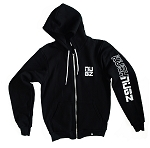 Kush Nugz Zip-up Hoodie - Black